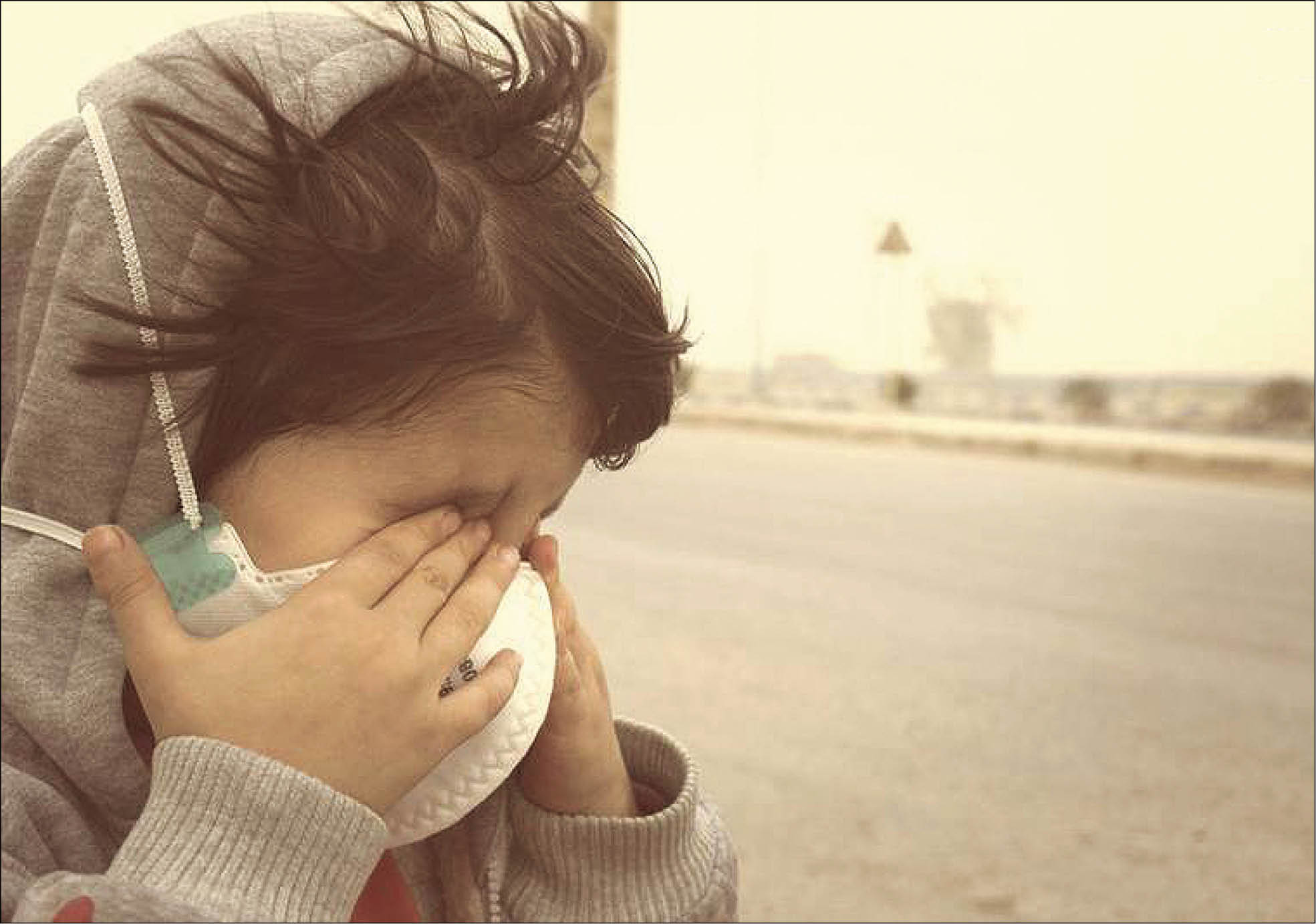 آلودگی هوای اهواز به 60 برابر حدمجاز رسید