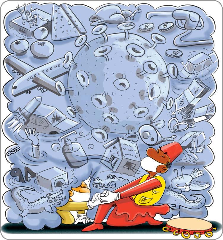 کارتونیست:منصوره دهقانی