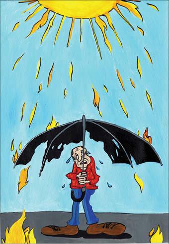 کارتونیست: حورا  سنچولی