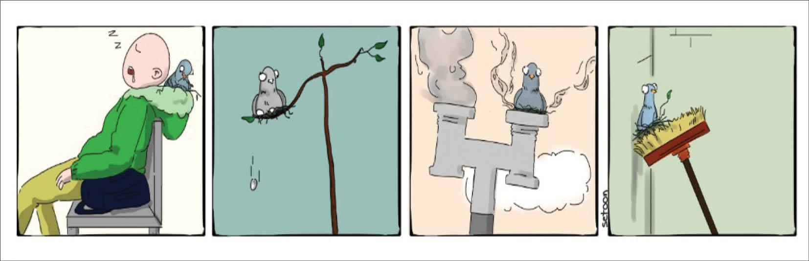 کارتونیست:صدیقه جعفریان