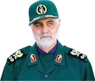 نتیجه تصویری برای سردار سلیمانی در اقلیم کردستان