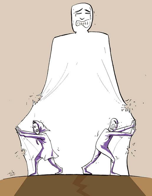 کارتونیست: پیام پورفلاح