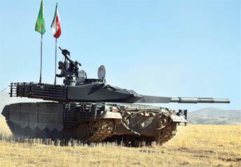 تحویل 800 تانک جدید به سازمان رزم ارتش و سپاه