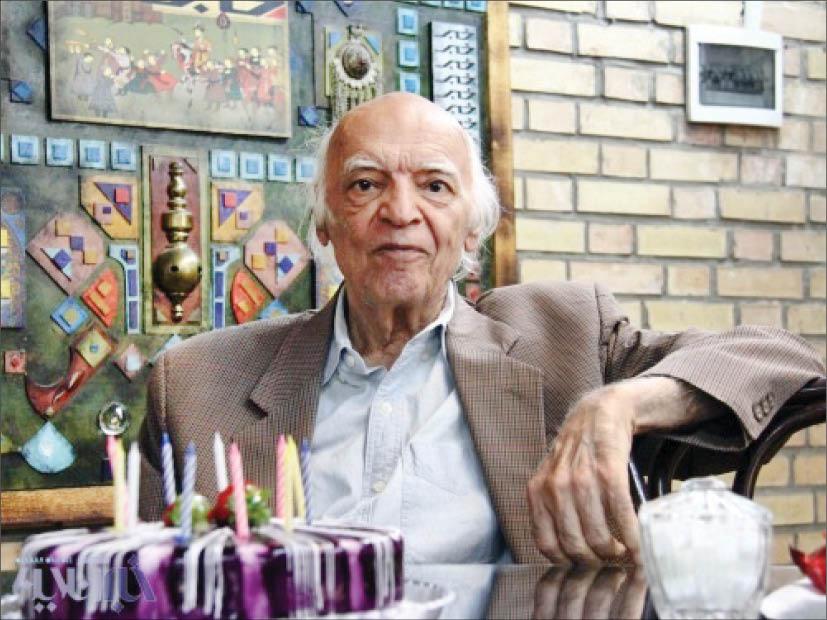 جشن تولد هشتادو چهار سالگی استاد دریابندری در خبرآنلاین