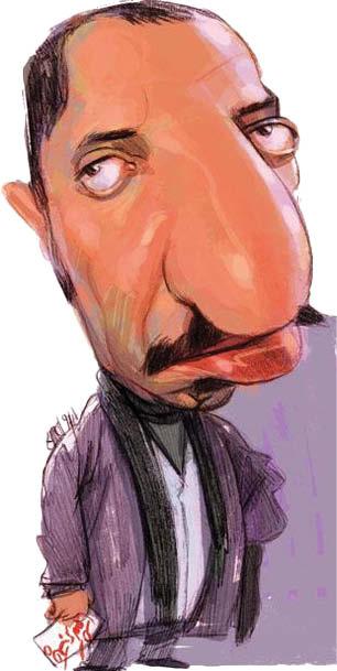 کارتونیست: حسین صافی